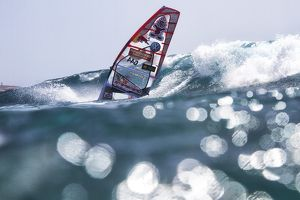 Pwa wave windsurfing in tenerife 2012