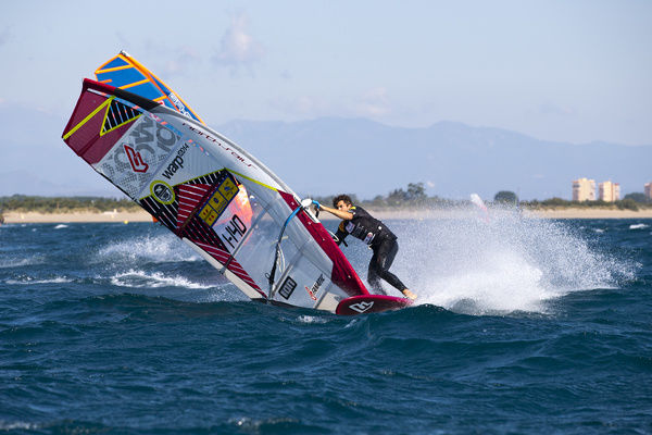 Iachino full power. PWA World Tour PWA_Photos 2014:15: Costa Brava 2014