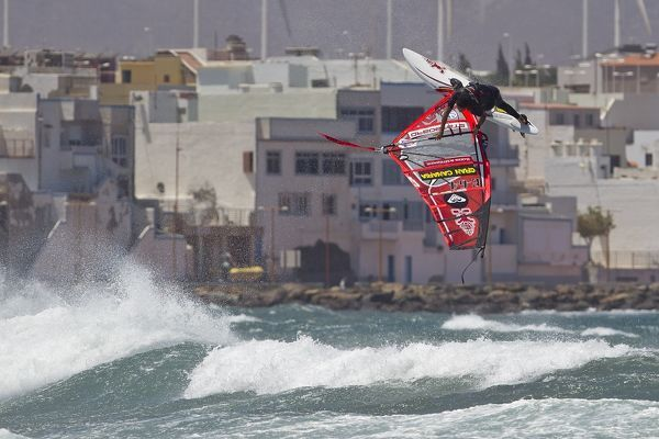 PWA Wave Windsurfing in Gran Canaria 2012